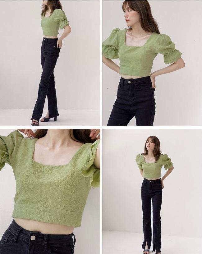 Rosé và Jihyo vừa diện áo blouse cổ vuông rất sang xịn mịn, gợi ý cho bạn vài thiết kế tương tự để sắm theo - Ảnh 5
