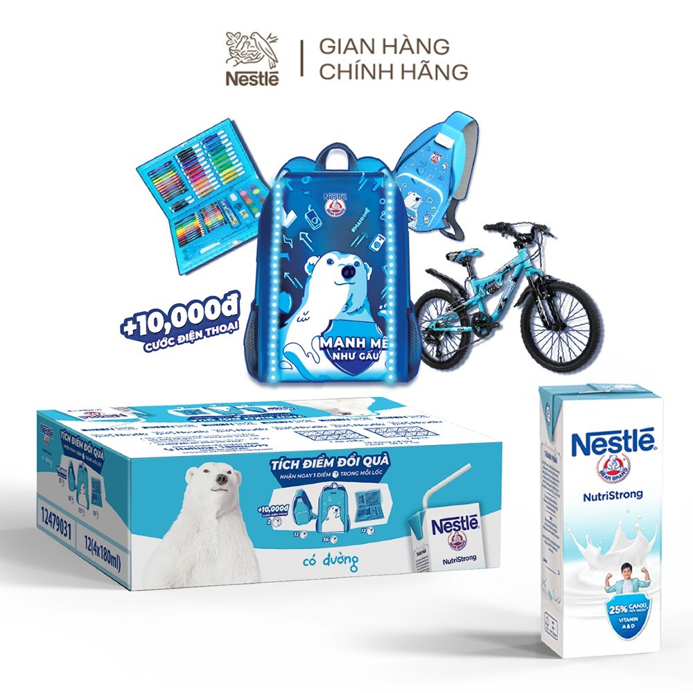 Mua một đơn hàng, siêu lời ưu đãi toàn gian hàng Nestlé trên Shopee - Ảnh 4