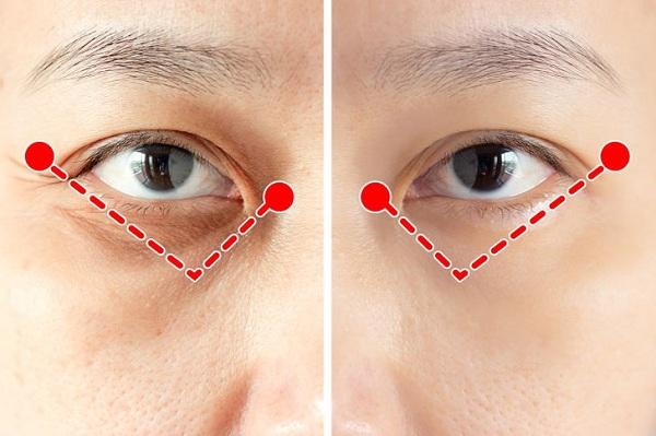 Bài tập 1 phút của người Nhật giúp xóa nếp nhăn quanh mắt - Ảnh 3