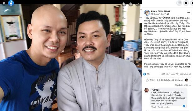 Phan Đinh Tùng lên tiếng vụ hình ảnh khen ngợi 'thần y' Võ Hoàng Yên lan truyền MXH - Ảnh 3