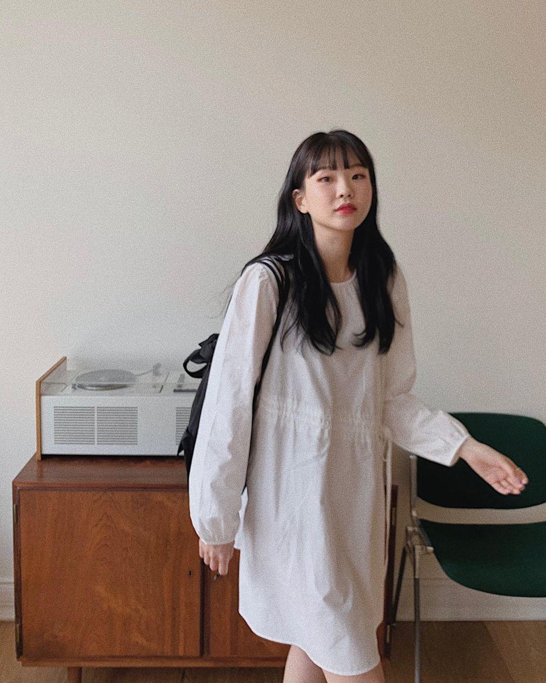 Hè đến là gái Hàn lại diện đủ kiểu váy trắng siêu trẻ xinh và tinh tế, xem mà muốn sắm cả 'lố' về nhà - Ảnh 9