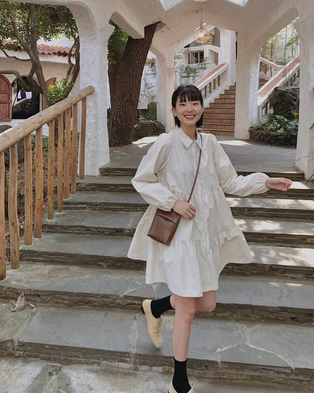 Hè đến là gái Hàn lại diện đủ kiểu váy trắng siêu trẻ xinh và tinh tế, xem mà muốn sắm cả 'lố' về nhà - Ảnh 18