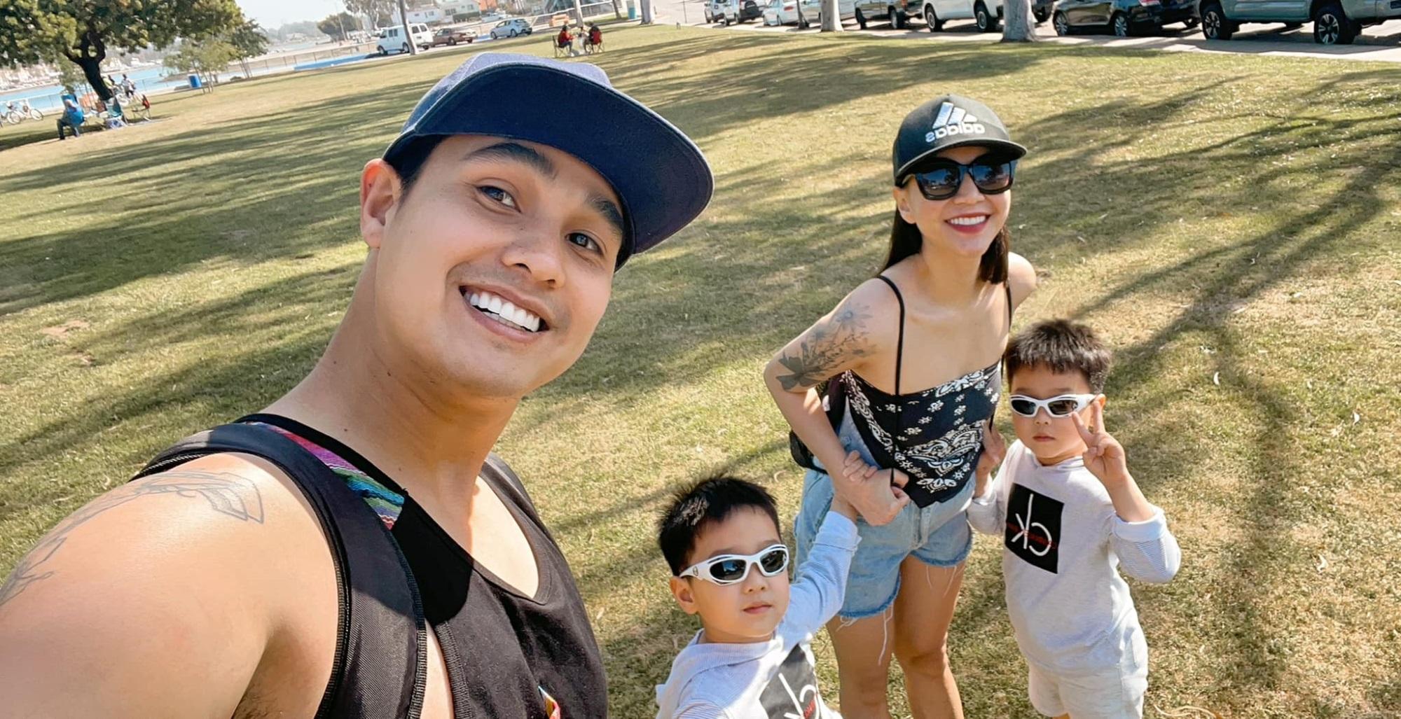 3 cặp song sinh rich kid đáng yêu nhất của các gia đình Việt, toàn 'nam thần nhí' khiến team bỉm sữa thích mê - Ảnh 1