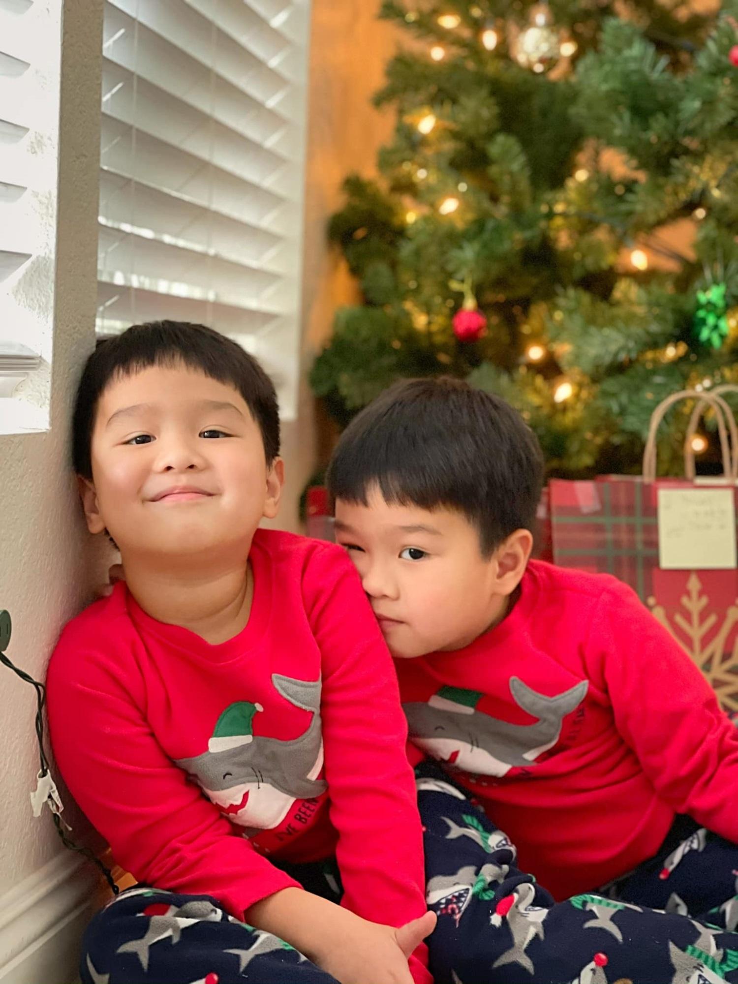 3 cặp song sinh rich kid đáng yêu nhất của các gia đình Việt, toàn 'nam thần nhí' khiến team bỉm sữa thích mê - Ảnh 13