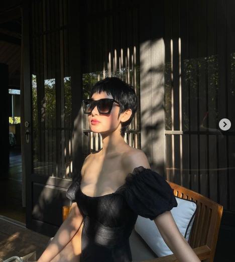 Học cách diện bikini một mảnh, đơn giản nhưng nóng bỏng của Hiền Hồ - Ảnh 7