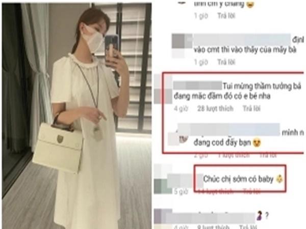 Hari Won mặc váy bà bầu, rộ nghi vấn đã mang thai