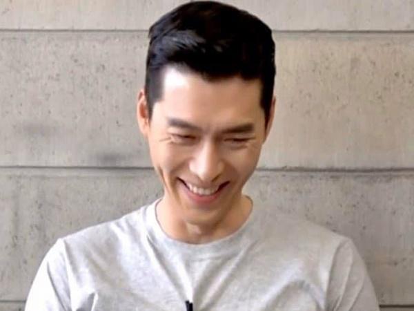 """Hyun Bin gây chú ý với loạt khoảnh khắc cười """"không thấy mặt trời"""", nhìn sao cũng giống người đàn ông hạnh phúc trong tình yêu"""