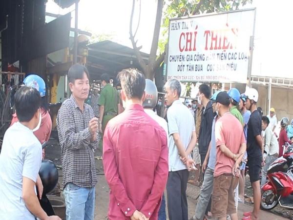 Nổ lốp xe ô tô, chủ gara ở Bình Phước tử vong tại chỗ