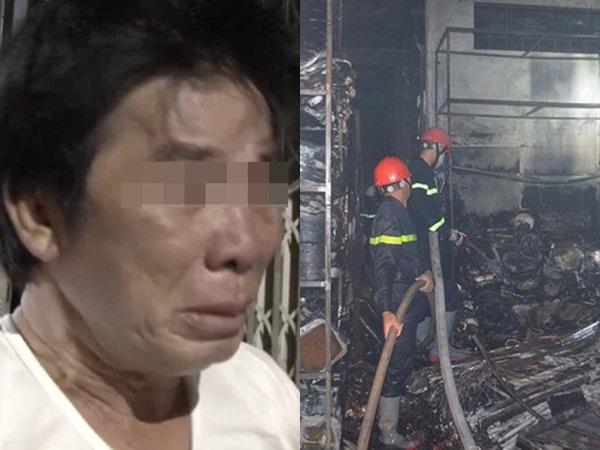 Cha thai phụ chết thảm trong vụ cháy ở Quảng Ngãi: 'Chết hết rồi! Chỉ 1 đêm mà tôi mất 2 con và 2 cháu'