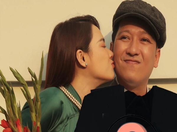 """Thì ra Nhã Phương trổ tài làm stylist cho Trường Giang trong bộ ảnh phỏng vấn Valentine, thành quả cũng """"okila"""" phết!"""