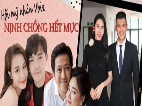 Những 'thánh' nịnh chồng trong showbiz Việt: Ai cao thủ nhất?