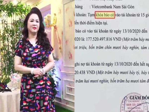 Vietcombank chính thức giải đáp về 'tạm khóa báo có' sau nhận định của bà Phương Hằng trên livestream