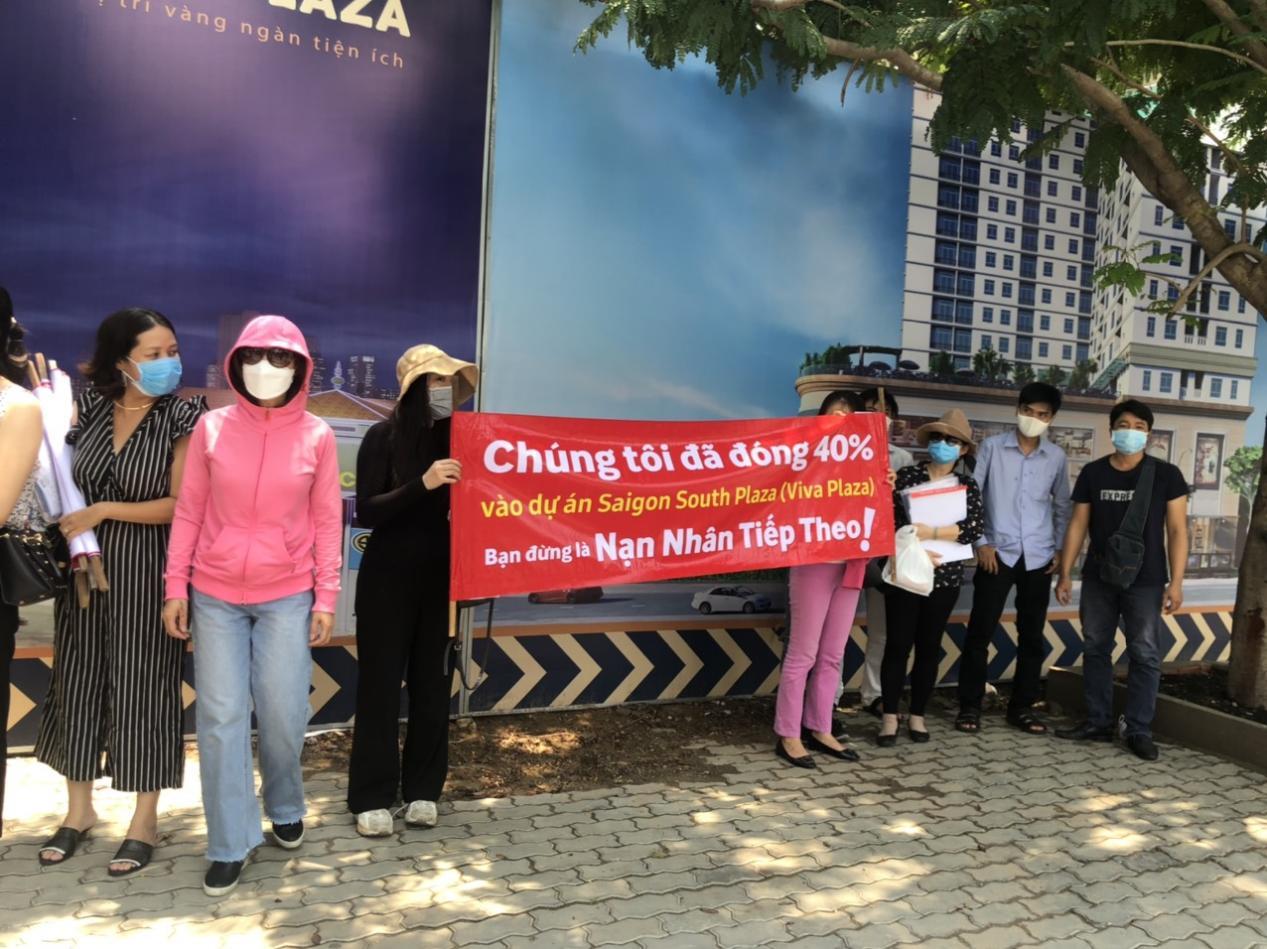 Dự án Viva Plaza: Nhà thầu cầu cứu cơ quan chức năng do… chủ đầu tư tẩu tán, chiếm đoạt tài sản? - Ảnh 2