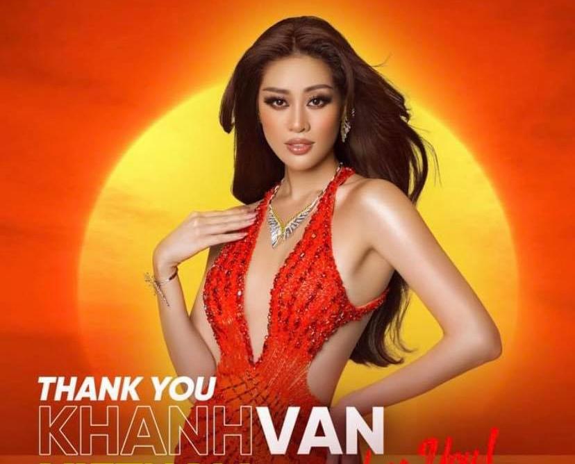 Chia sẻ đầu tiên của Khánh Vân sau khi dừng chân tại Top 21 Miss Universe 2020