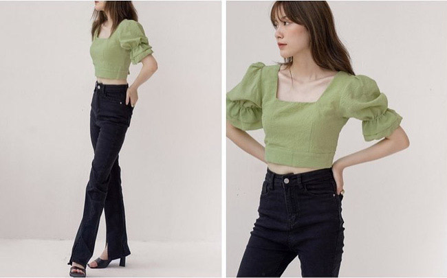 Rosé và Jihyo vừa diện áo blouse cổ vuông rất sang xịn mịn, gợi ý cho bạn vài thiết kế tương tự để sắm theo