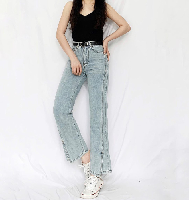 Nhìn Suzy bạn sẽ thấy khả năng tôn chân - dìm dáng 'một trời một vực' giữa quần ống loe và quần ống suông - Ảnh 10