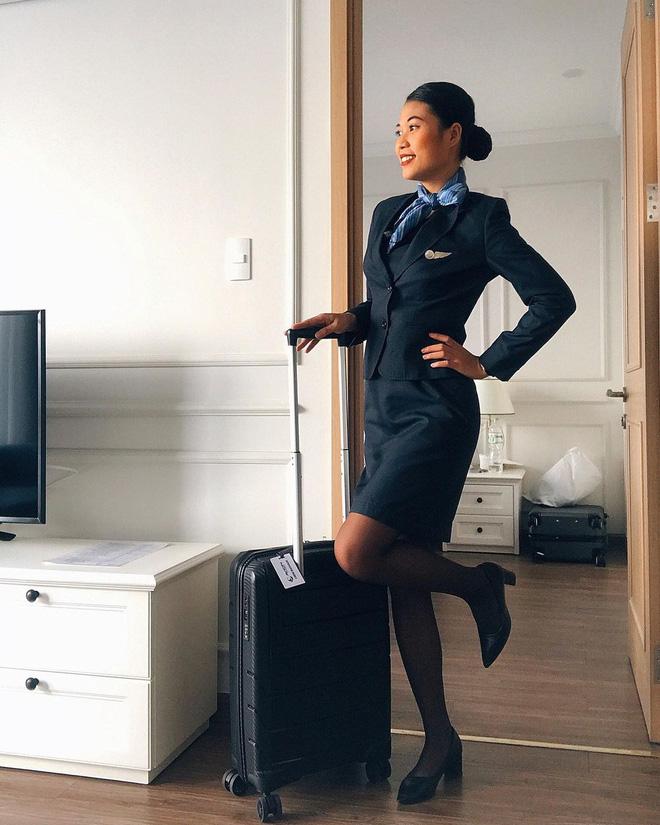 Gái xinh 'khai' hết sướng khổ của tiếp viên hàng không, từng bật khóc vì khách trêu: 'Sao da đen thế mà cũng được làm?' - Ảnh 4