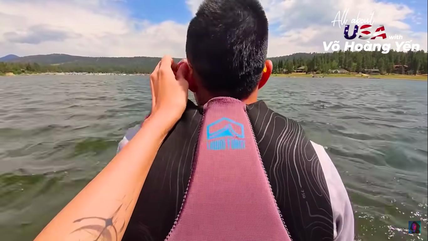 Võ Hoàng Yến được chồng sắp cưới cưng chiều như 'bà hoàng' tại Mỹ, đi du lịch khắp nơi từ Downtown Disney cho đến Big Bear Lake, biển Laguna - Ảnh 12