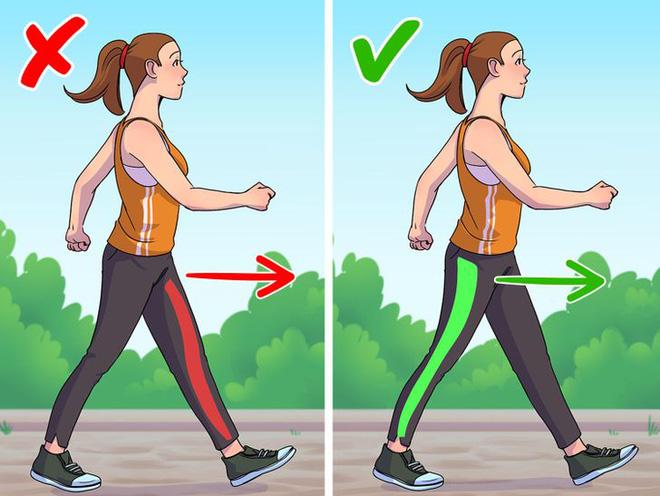 9 lỗi sai trong việc đi bộ mà 90% ai cũng mắc phải, cứ ngỡ chẳng vấn đề gì nhưng thực ra đang huỷ hoại vóc dáng và sức khoẻ của bạn - Ảnh 4