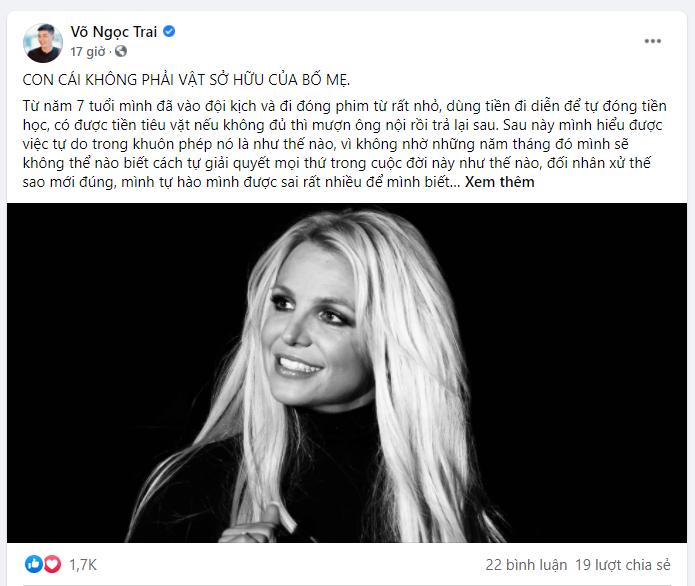 Sao quốc tế và Việt Nam đồng lòng ủng hộ Britney Spears thoát khỏi sự khống chế và bốc lột của gia đình - Ảnh 11