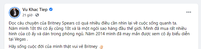 Sao quốc tế và Việt Nam đồng lòng ủng hộ Britney Spears thoát khỏi sự khống chế và bốc lột của gia đình - Ảnh 10