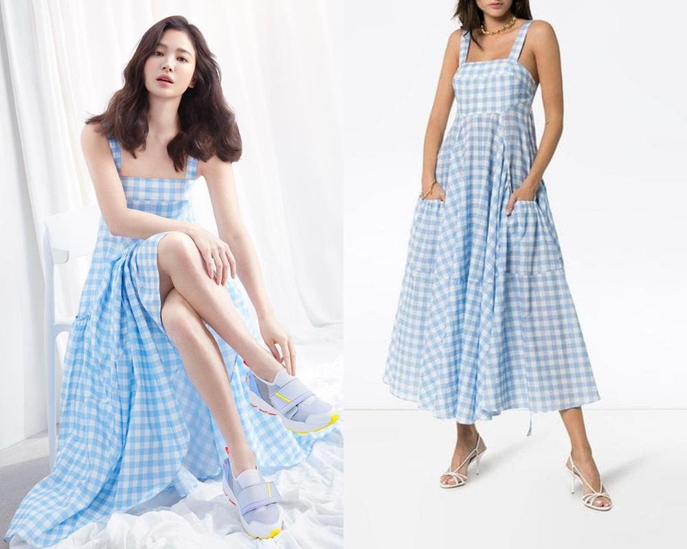 Hậu ly hôn ngày càng hở bạo, Song Hye Kyo chẳng ngại 'cắt xén' váy áo, khoe body sexy hơn cả mẫu hãng - Ảnh 3