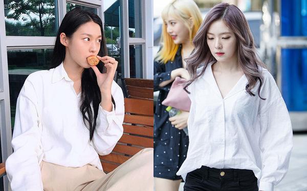 Sơ mi dáng cơ bản có tới 6 cách mặc, giúp bạn thành nàng công sở sang chảnh chuẩn style nữ chính phim Hàn