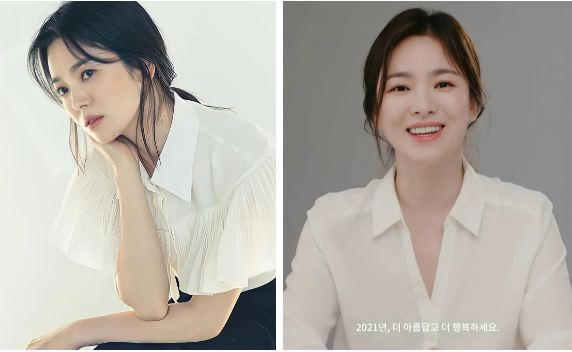 Bắt bài chiêu buộc tóc của Song Hye Kyo: Hóa ra phải làm thêm thao tác này thì mới chuẩn sang chảnh