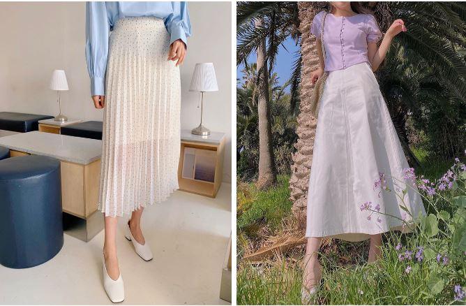 Kiểu gì thì hè này chị em cũng nên sắm 5 mẫu chân váy sau để diện lên là được khen xinh xẻo