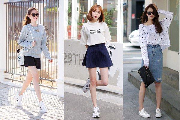 Đính kèm giày sneaker trắng với 5 kiểu trang phục sau, vẻ ngoài của bạn bỗng muôn phần xịn hơn