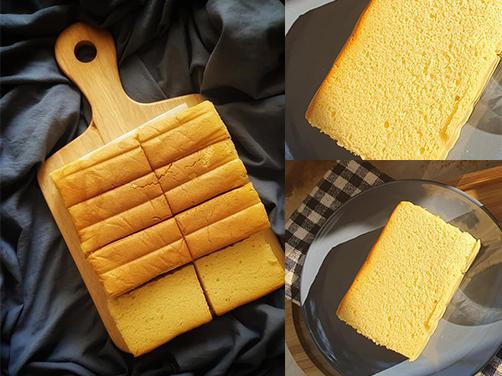 """Bánh bông lan phomai Đài Loan Castella: Phiên bản """"con nhà nghèo"""" dành cho chị em thích ăn mà không sợ béo"""