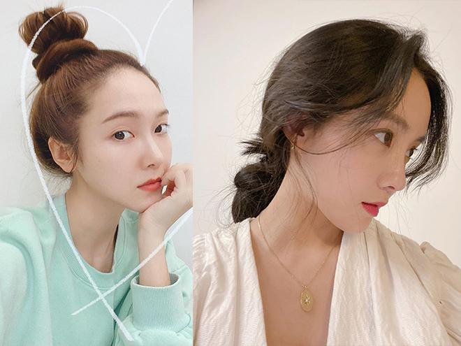 """Chẳng cần cầu kỳ chi cho mệt, bạn cứ copy loạt kiểu tóc đơn giản nhưng """"max"""" điểm thần thái này của sao Hàn là đảm bảo xinh"""