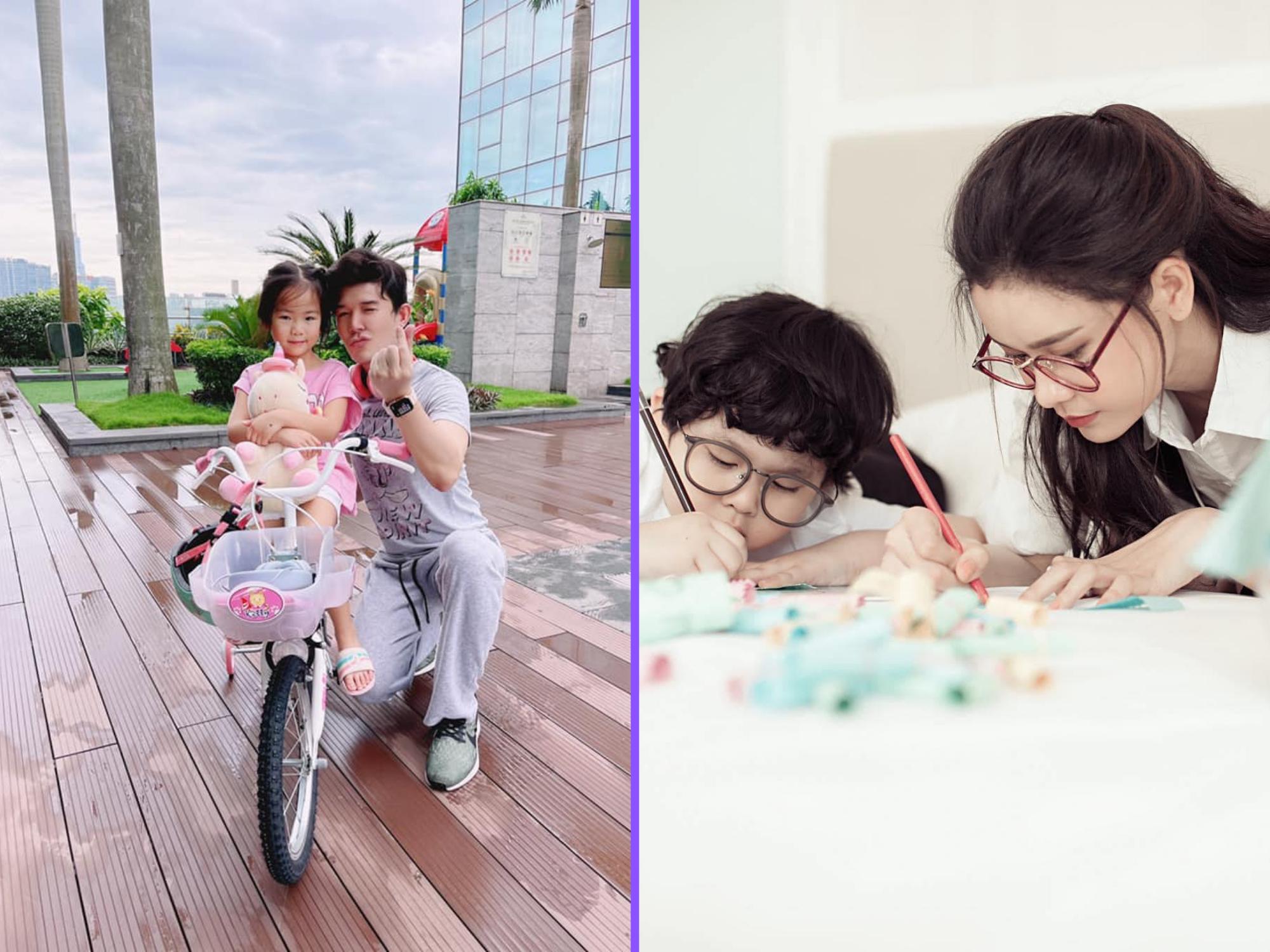 Sao Việt 24h: Trương Quỳnh Anh miệt mài vẽ cùng con trai, Lê Phương khoe bữa cơm điểm 10 cả nhà cùng nấu