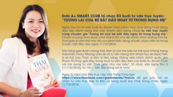 Sức hút đặc biệt của Enfa A+ Smart Club với mẹ bầu Việt - Ảnh 5