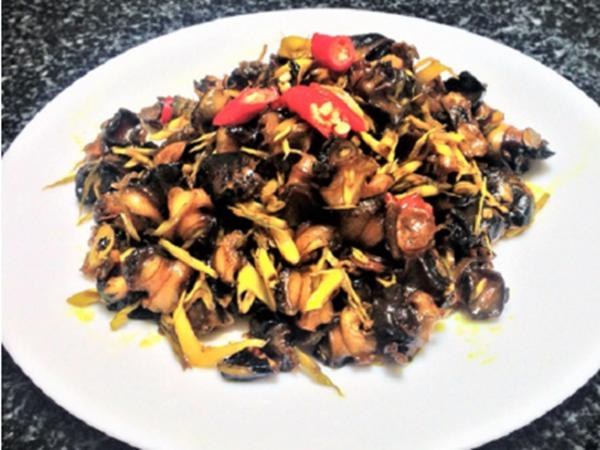 Cách làm món ốc bươu xào sả ớt giòn sật lai rai ngày cuối tuần - Ảnh 4
