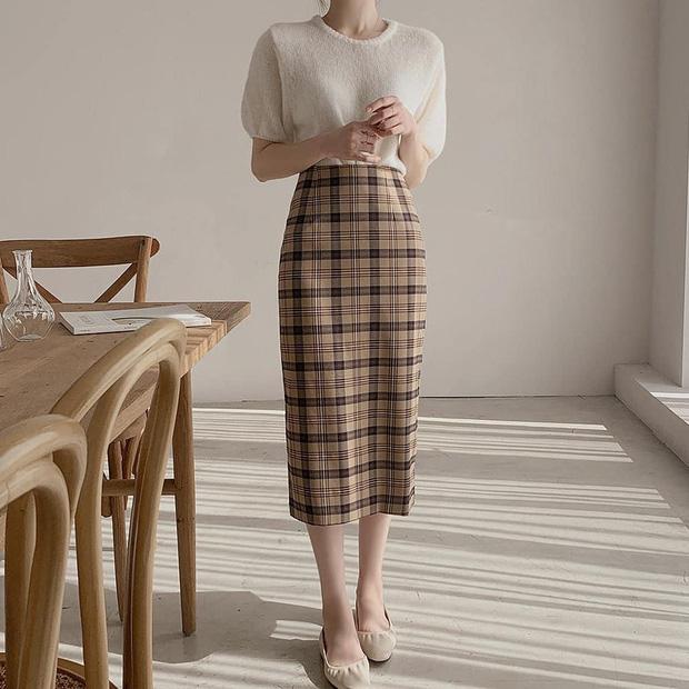 Ngắm 10 mẫu áo len cộc tay xinh chuẩn Hàn này, bạn sẽ muốn sắm bằng hết để diện dần - Ảnh 4