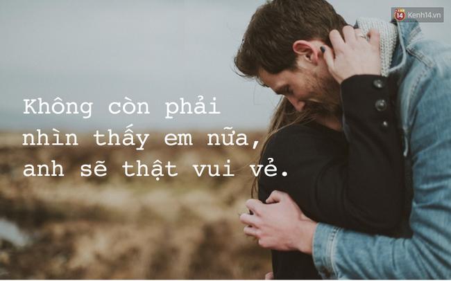 Khi chia tay, câu nói nào của đối phương khiến bạn đau lòng nhất? - Ảnh 3