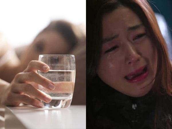 Đêm nào chồng cũng có thói quen uống một cốc nước ấm trước khi đi ngủ, một đêm vợ khát  quá uống nhầm nước của chồng thì...