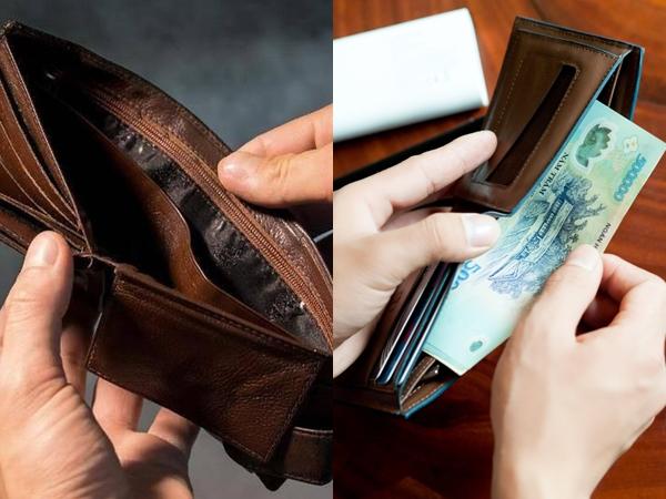 Cứ mở ví ra là có tiền, tài lộc vơi rồi lại đầy nhờ chọn đúng ví theo phong thủy