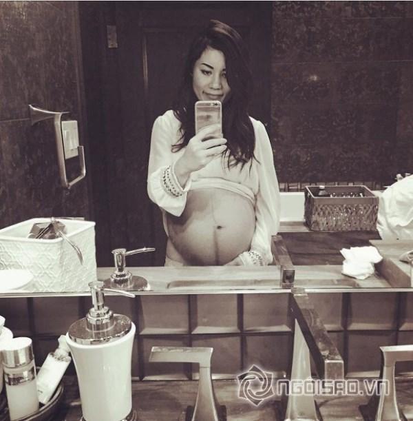 Đang mang bầu, vợ Đan Trường lo lắng khi 10 ngày phải nhập viện 2 lần - Ảnh 2