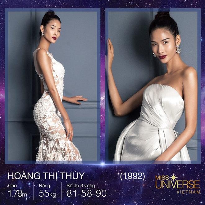 Việc Hoàng Thùy bất ngờ ghi danh tại Miss Universe Vietnam khiến cộng đồng mạng bàn tán sôi nổi. Nhiều ý kiến cho rằng gương mặt và vóc dáng của cô không phù hợp với tiêu chí của cuộc thi này.