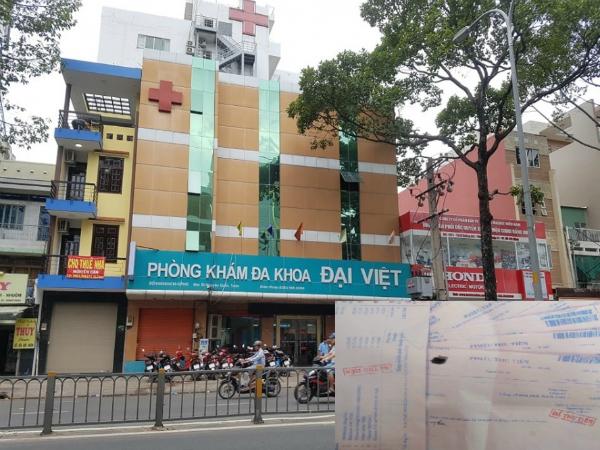 Vượt quá phạm vi chuyên môn, phòng khám đa khoa Đại Việt bị tước quyền sử dụng giấy phép