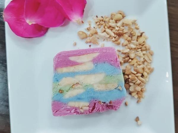 Học cách làm kem chuối sắc màu, vừa ngon vừa đẹp cả nhà thích mê