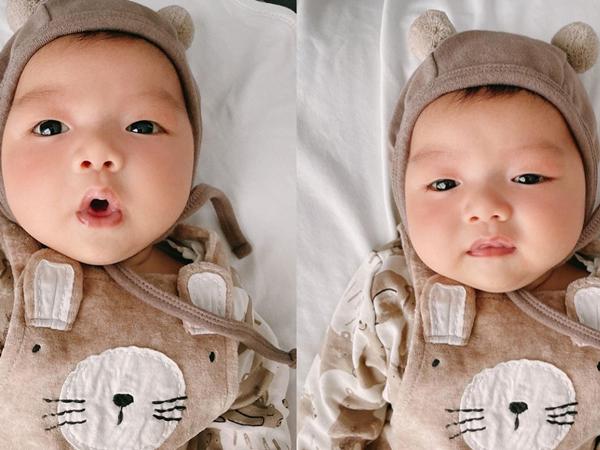 Ngắm con trai đầu lòng của MC Trần Ngọc, cư dân mạng thi nhau tìm ra điểm khác nhau giữa em bé và bố Ngọc nhưng đành 'chào thua'