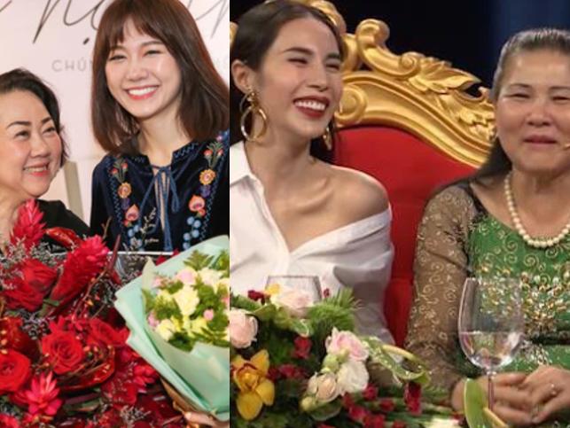 Quan hệ mẹ chồng - nàng dâu của mỹ nhân Việt: Thủy Tiên - Hari Won được ngưỡng mộ, Đặng Thu Thảo sống trong gia đình hào môn lại gây tò mò
