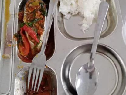 Sở Giáo dục TP. HCM xác minh vụ suất ăn của học sinh có gián