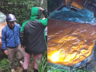Nghệ An: Xe bán tải bất ngờ lao xuống vực sâu hơn 100m khiến 1 người tử vong, 2 người bị thương