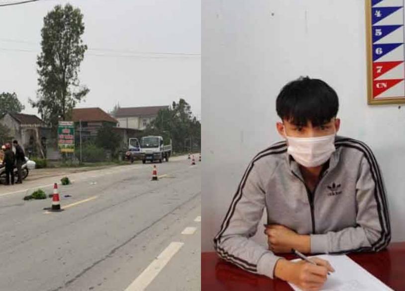 Hà Tĩnh: Nam thanh niên chạy xe máy điện tông chết người phụ nữ đi bộ rồi bỏ trốn